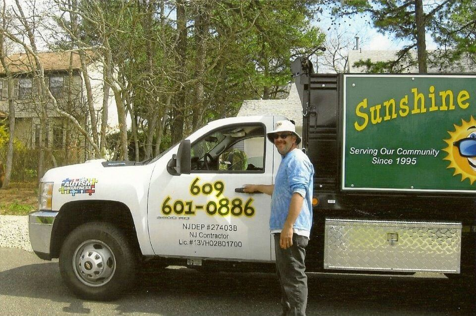 Proud owner of Sunshine Lawn Care LLC